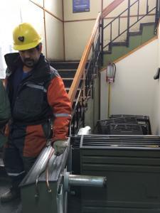 Retiro de calefactores y reparación de paredes para nuevo sistema de calefacción